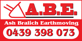 *Ash Bralich Earthmoving ABE - Earthmoving Singelton Rockingham
