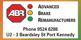 *Advanced Brake Remanufacturers - Phone 9524 6288- Brake and Clutch Service Port Kennedy