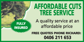 *Affordable Cuts Tree Service - Phone 0406 211 653 - Stump Grinding Rockingham