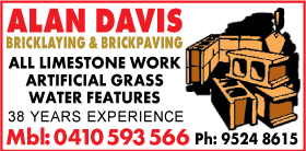 *Alan Davis Bricklaying - Bricklaying Secret Harbour Rockingham
