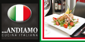 *Andiamo Licensed Café / Restaurant - Phone 9592 9946 - Catering Rockingham
