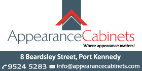 *Appearance Cabinets - Cabinetmakers Port Kennedy Rockingham - 100% LOCALLY MANUFACTURED
