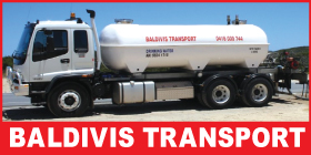 *Baldivis Transport - Water Supply and Cartage Baldivis Rockingham