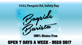 "*Bayside Barista - Phone <a href=""tel:95285917"">9528 5917</a> - Safety Bay Café Bistro Rockingham"