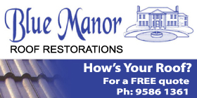 *Blue Manor Roof Restorations - Phone 9586 1361 - Roofing Greenfields Mandurah