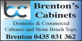 *Brentons Cabinets - Cabinetmakers Rockingham Phone 0435 031 362