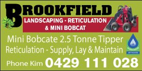 *Brookfield Landscaping Reticulation & Mini Bobcat - Ph 0429 111 028