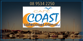 *Cafe Coast - Phone 08 9534 2250 - Alfresco Restaurant Mandurah