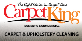 *Carpet King -  Upholstery Cleaning