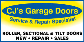 *CJs Garage Doors - ROLLER DOORS AND GARAGE DOOR REPAIRS AND SERVICE MOTORS AND REMOTES - EMERGENCY CALL OUTS
