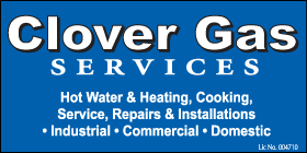 *Clover Gas Services - Phone 0412 134 902