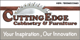 *Cutting Edge Cabinetry & Furniture - Phone 9524 5975