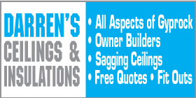 *Darren's Ceilings & Insulations - Ceiling Services Rockingham