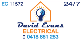 *David Evans Electrical - Phone 0418 851 253 - Electricians Port Kennedy Rockingham
