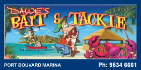 *Dawes Bait & Tackle - Fishing Bait and Tackle Wannanup Port Bouvard Mandurah