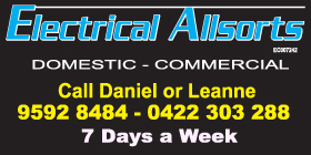 *ELECTRICAL ALLSORTS - VERY COMPETITIVE PRICING ELECTRICIAL LIGHTING SUPPLY & INSTALLATIONS - VERY COMPETITIVE PRICING - RELIABLE QUALIFIED ELECTRICIAN