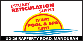 *Estuary Pool & Spa Supplies - Phone 9534 9534 - Reticulation Mandurah