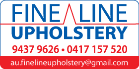 *Fine Line Upholstery - Phone 9437 9626 - Motor Trimmers Naval Base Rockingham