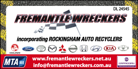 *Fremantle Wreckers - Auto Parts Rockingham