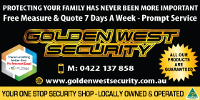 *Golden West Roller Shutters - Rollershutters Rockingham
