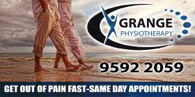 *Grange Physiotherapy - Phone 9592 2059