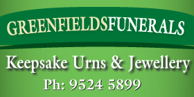 "*Greenfields Funerals - Phone <a href=""tel:95245899"">9524 5899</a> - Cremation Jewellery and Urns Port Kennedy Rockingham"