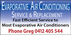 *Evaporative Air Conditioning - Greg Hounslow - Phone 0412 405 544 - Evaporative Air Conditioning Rockingham