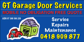*GT Garage Door Services - Phone 0418 909 877 - Garage Doors Waikiki Rockingham
