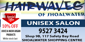 *Hairwaves of Shoalwater - Unisex Hair Salon