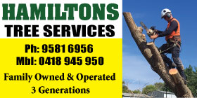 Hamiltons Tree Service - Tree Lopping Mandurah FAMILY OWNED OPERATED EMERGENCY CALL OUTS
