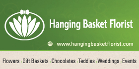 "*Hanging Basket Florist - Phone <a href=""tel:95275562"">9527 5562</a> - Now located at 10A Ameer Street Rockingham"