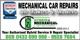 *MECHANICAL CAR REPAIRS ALL MAKES (HYBRID SPECIALISTS) - SERVICE STARTING FROM $139*