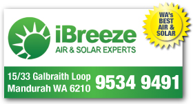 *iBreeze Air & Solar Experts - Air Conditioning Falcon Mandurah