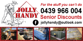 Jolly Handy - Garden Services Rockingham FOR THE STUFF YOU CAN'T DO!