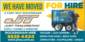 *Just Trailers WA - Trailer Hire Rockingham