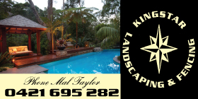 *Kingstar Landscaping, Fencing & Handyman Services - Phone 0421 695 282 - Landscaping Falcon Mandurah