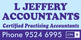 *L Jeffery Accountants - Ph 9524 6995 - Bookkeeping Port Kennedy Rockingham