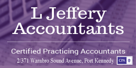 *L Jeffery Accountants - Ph 9524 6995 - Taxation Port Kennedy Rockingham