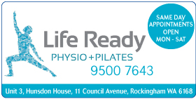 Life Ready Physio and Pilates Rockingham - Health and Fitness Rockingham, Baldivis