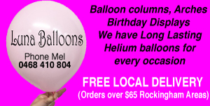LUNA BALLOONS - AFFORDABLE PARTY BALLOONS FOR ALL OCCASIONS - FREE LOCAL DELIVERY