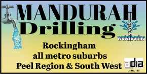*MANDURAH DRILLING - AFFORDABLE BORE & WELL SERVICES - ALL HOLE DRILLING