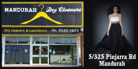 *Mandurah Dry Cleaners - Laundry Services Mandurah