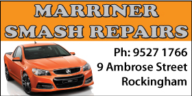 *Marriner Smash Repairs - Sandblasting Rockingham Sandblasting Baldivis Sandblasting Port Kennedy