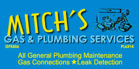 *Mitch's Gas & Plumbing Services - Safety Service Gas Services - New Gas Connections