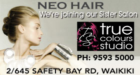 *Neo Hair Salon - Merged with True Colours Studio, Waikiki Hairdressers -  Phone 9593 5000