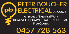 *Peter Boucher Electrical - Phone 0457 728 563 -  Electricians Waikiki Rockingham
