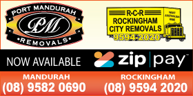 *Port Mandurah Removals incorporating Rockingham City Removals ZIP PAY AVAILABLE