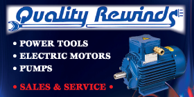 *Quality Rewinds - Pumps and Power Tools Rockingham Quality Service and Price