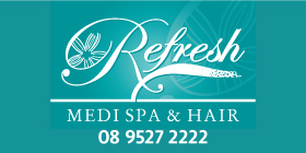 *REFRESH MEDI SPA & HAIR -  OPEN FOR BUSINESS COMPETITIVE RATES EXCELLENT RESULTS