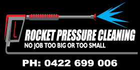 *Rocket Pressure Cleaning - Ph 0417 934 824 - Cleaning High Pressure Rockingham